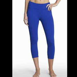 Fabletics Royal Blue Solar Capris